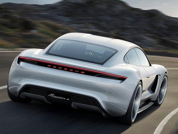Koncept Porsche Mission E.
