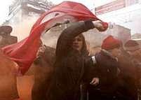 """V Petrohradě skončil na začátku března """"Pochod těch, kdo jsou proti"""" zákrokem zásahových jednotek"""