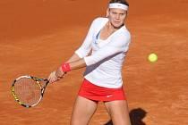 Uzdravená Lucie Šafářová v prvním kole Fed Cupu proti Silvii Solerová ze Španělska.