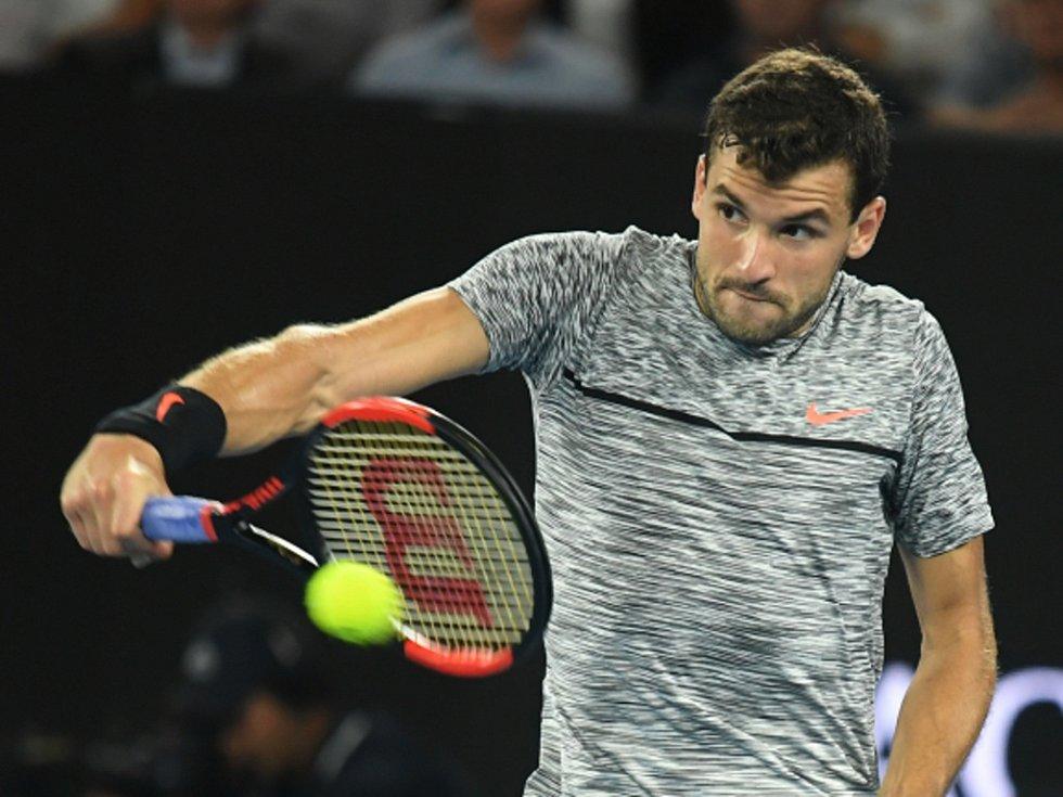 Grigor Dimitrov na Australian Open.