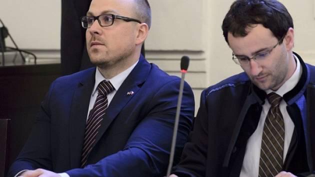 Bývalý obchodní ředitel společnosti Neograph Vladimír Sitta (vlevo).