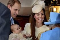Britská královská rodina ve Svatojakubském paláci.