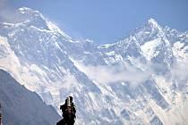 Výstup na nejvyšší horu světa Mount Everest.