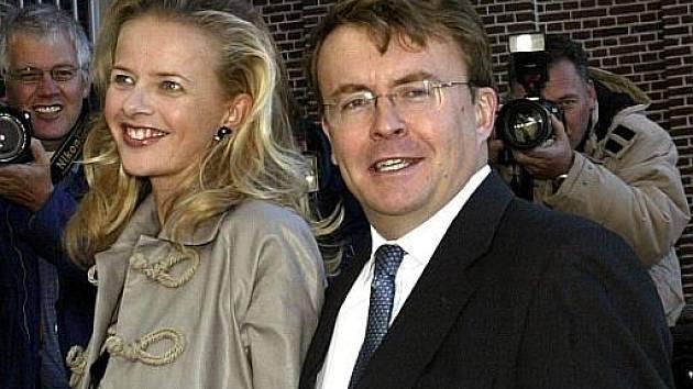Syn nizozemské královny Beatrix Johan Friso s manželkou