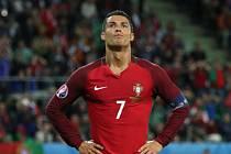 Hvězda Portugalska Cristiano Ronaldo.