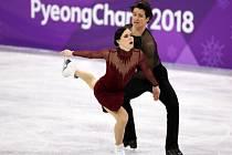 Tessa Virtue a Scott Moir si vyjeli v Pchjongčchangu zlato.