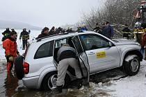 Ve čtvrtek 14. ledna 2010 vyprošťovali hasiči utopený automobil Toyota RAV4 rakouského řidiče ze zamrzlého Lipna poblíž Frymburku na Českokrumlovsku. Vozidlo se probořilo tenkým ledem a následně kleslo ke dnu ve středu ve 22.38 hodin.