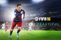 Počítačová hra FIFA 16.