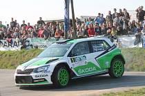 Jan Kopecký na Rallye Šumava