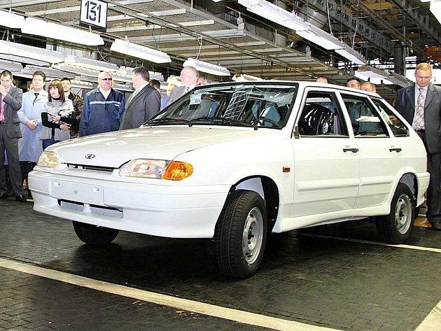 Poslední vyrobená Lada Samara.