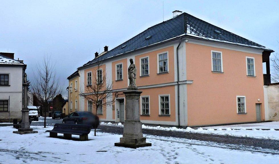 Dům šumperského děkana a faráře Kryštofa Aloise Lautnera.