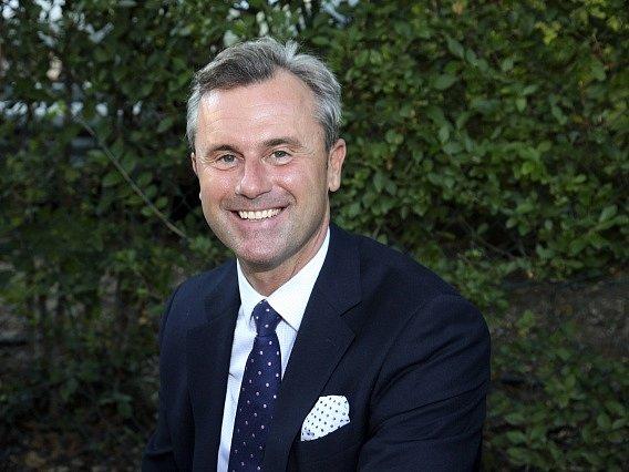 Rakouský prezidentský kandidát Norbert Hofer.
