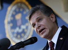 Šéf FBI Christopher Wray