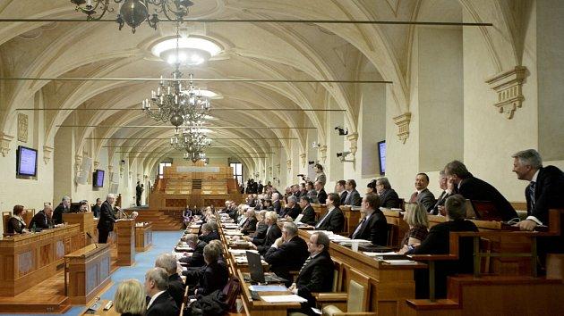 Jednání Senátu. Ilustrační fotografie.