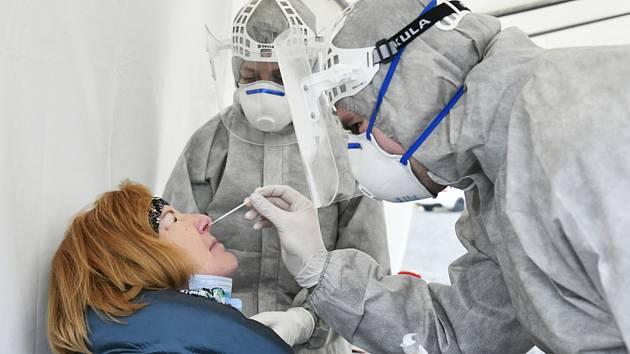 Antigenní testy v Plzni