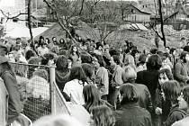 Hudební festival v Rudolfově před 45 brutálně rozehnala policie