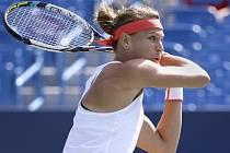 Lucie Šafářová prošla snadno do čtvrtfinále turnaje v Cincinnati