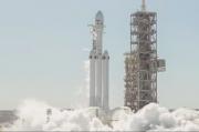 Zkušební start rakety Falcon Heavy