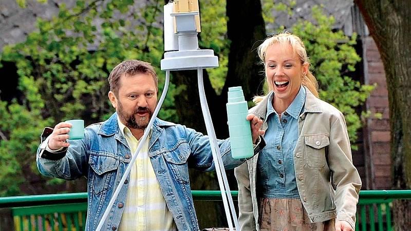 S Karlem Zimou v novém filmu Štěstí je krásná věc