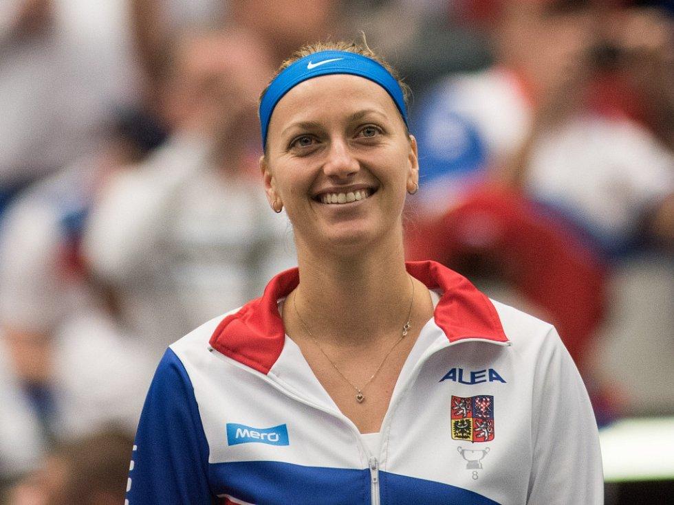 Fedcupová opora Petra Kvitová.