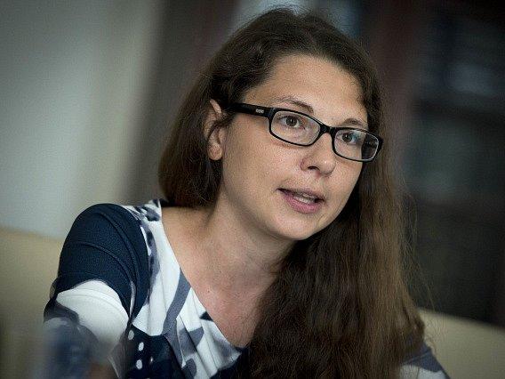 Vedoucí ústavněprávního oddělení Tereza Krupová.