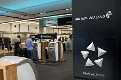 Letiště na Novém Zélandu. Ilustrační foto.