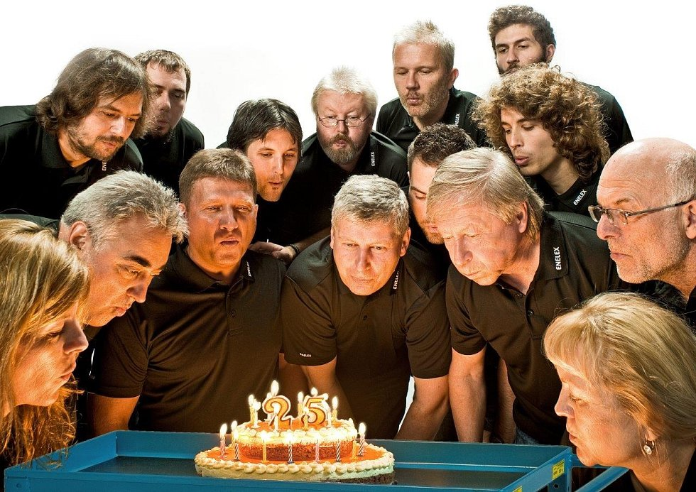 Oslavy 25. výročí firmy Enelex