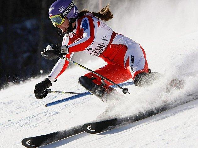 Šárka Záhrobská v Aspenu vybojovala své druhé vítězství ve Světovém poháru v kariéře.