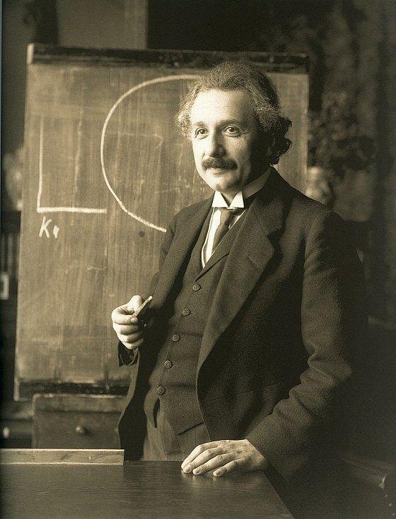 Albert Einstein v roce 1921
