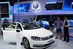 Volkswagenu v Číně, ilustrační foto.