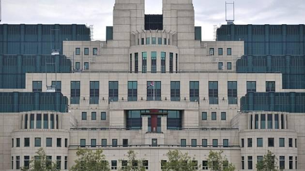 Sídlo MI6. Ilustrační foto.