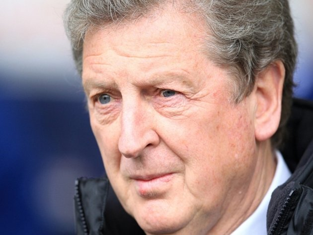 Trenér Anglie Roy Hodgson.