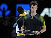 Andy Murray nestačil ve finále Australian Open na Novaka Djokoviče.
