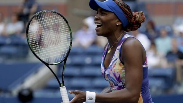 Venus Williamsová na US Open.