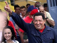 Venezuelský prezident Hugo Chávez zvítězil v nedělních volbách a znovu tak obhájil svůj post.