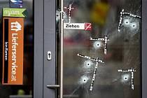 Stopy po kulkách v centru Vídně