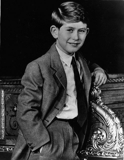 Devítiletý princ Charles.