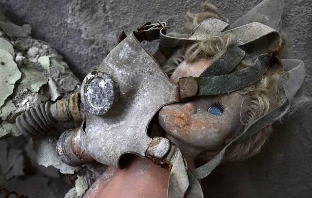 Pripjať. Obyvatelé po jaderné nehodě v Černobylu zanechali vše na svém místě.