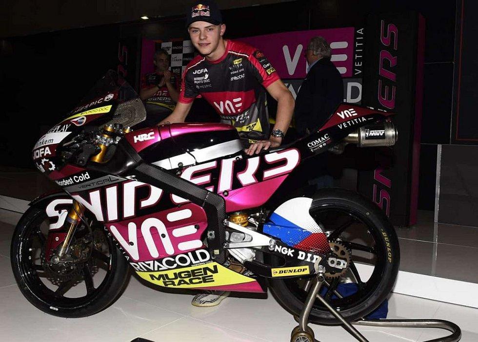 Motocyklista Filip Salač