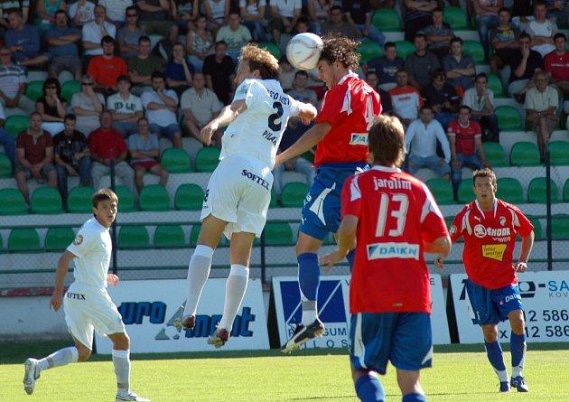 První fotbalová liga Most vs Plzeň. Pilař a Rada v souboji