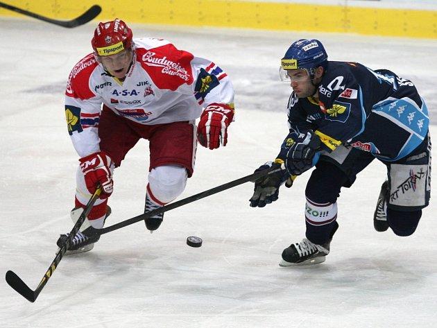 Jakub Langhammer z Českých Budějovic (vlevo) a  Vladimír Svačina z Vítkovic.