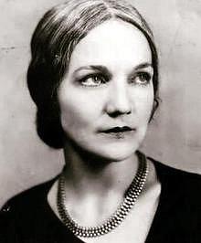 Spisovatelka Katherine Anne Porterová
