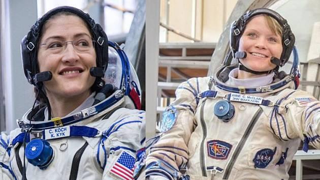 Christina Kochová a Anna McClainová