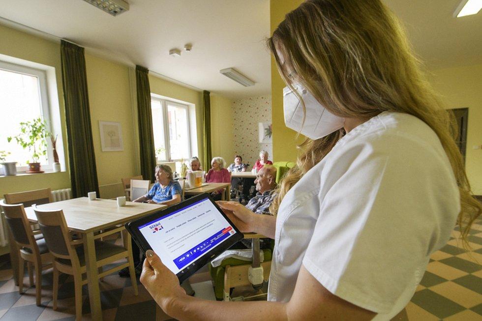 Sčítání lidu, domů a bytů v Domově pro seniory