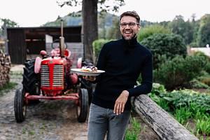Herec a gastronom Lukáš Hejlík.