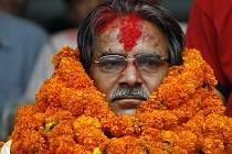 Maoistický vůdce Pračánda se zřejmě stane příštím prezidentem země.