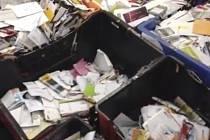 Americký listonoš u sebe za devět let nashromáždil 40.000 zásilek.