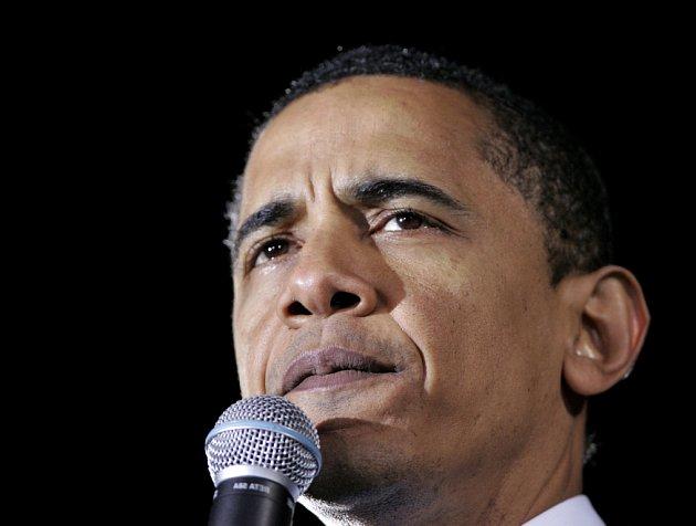 """Barack Obama vede svou kampaň pod heslem """"Naděje""""."""