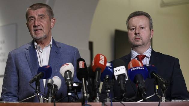 Andrej Babiš (vlevo) a Richard Brabec.