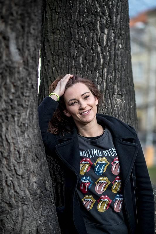 Herečka Barbora Jánová